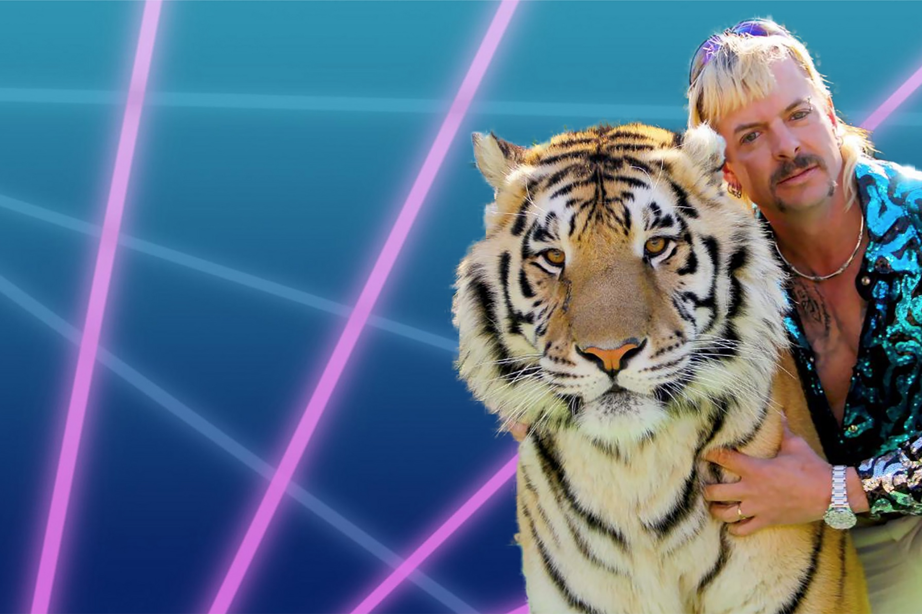 Weirdest Zoom Backgrounds. Tiger King Zoom Background