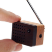 Motz introduces tiny wooden FM radio - photo 1