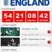 APP OF THE DAY - The Official England Application (iPhone, iPod touch) - photo 1