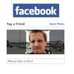 Facebook lives up to its name with auto face tagging - photo 1