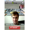 iPhone 4 video calling on 3G with Fring - photo 1