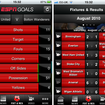 APP OF THE DAY: ESPN Goals (iPhone) - photo 2
