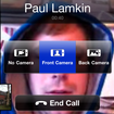 Skype iPhone video calling hands-on - photo 2