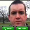 Skype iPhone video calling hands-on - photo 7