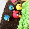 New Angry Birds birthday cake baked - photo 3