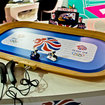 Hornby goes London 2012 Olympics mad with Scalextric Team GB Track Cycling Set - photo 3