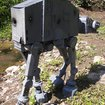 Star Wars AT-AT Imperial Walker made from recycled computer parts for sale - photo 4
