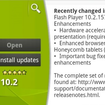 Adobe spills the beans on Android 3.1 - photo 2