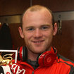 Wayne Rooney spotted with elusive red Beats by Dr Dre while holding Premier League trophy - photo 1