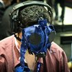 Latest gaming accessory: a blacked out gas mask - photo 1