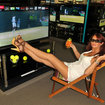 Comet showing 3D Wimbledon in store with the help of Amy Childs - photo 1