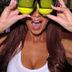 Comet showing 3D Wimbledon in store with the help of Amy Childs - photo 3