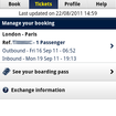 Eurostar, now calling at Android Market and iPhone App Store   - photo 5