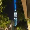 BT Tower becomes Star Wars lightsaber - photo 6