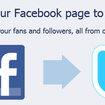 Facebook friends Twitter, allows for micro-updates - photo 2