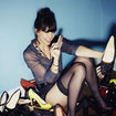 Daisy Lowe in her pants: Sony Ericsson gets sexy for Xperia ray launch pictures - photo 1