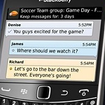 BlackBerry Messenger update makes app sharing easy - photo 1