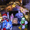 Gamestation risks wrath of God with game icon nativity scene - photo 1
