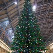 LEGO Christmas tree decks the halls at St. Pancras Station - photo 7
