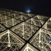 Toshiba LED Louvre illumination: Pictures and bright-eyes on - photo 7