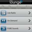 Pure Lounge app tunes in on Android - photo 1