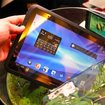 Fujitsu Arrows waterproof honeycomb tablet pictures and hands-on - photo 1