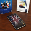 Samsung Galaxy Note and Galaxy Y available with Team GB back covers at O2 - photo 1
