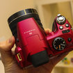Fujifilm FinePix SL300 in red pictures and hands-on - photo 6