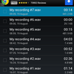 APP OF THE DAY: Easy Voice Recorder Free (Android) - photo 2