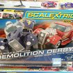 Scalextric Quick Build Demolition Derby set plays nice with Lego - photo 4