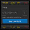 App of the day: Flight Finder review (iPhone) - photo 2