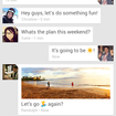 Google+ Hangouts with integrated SMS will ship with Nexus 5, come to Google Play in weeks - photo 2