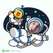 Line Selfie Sticker app creates pictures of yourself that you'll want to unsee - photo 2