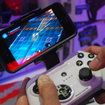 Mad Catz CTRLi gamepad for iPhone and STRIKE M wireless keyboard pictures and hands-on - photo 3