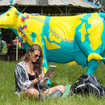 Going to Glastonbury and want free Wi-Fi? Just plonk yourself next to a cow - photo 1
