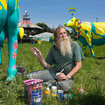 Going to Glastonbury and want free Wi-Fi? Just plonk yourself next to a cow - photo 5