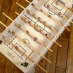 Is this the coolest thing ever? A flatpack foosball table made of cardboard - photo 1