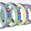 Hicon smart bangle keeps you tethered to social networks, with alerts shown on your wrist - photo 4