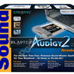 Creative Sound Blaster Audigy 2 ZS Notebook review - photo 2