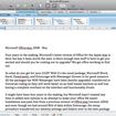 Microsoft Office:mac 2008 - Mac review - photo 4