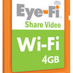 Eye-Fi Share Video wireless SD card   - photo 1