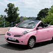 Nissan goes pretty with the Micra C+C Pink edition - photo 1