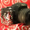 Pentax K-m DSLR gets blinged - photo 1