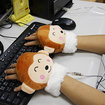 Monkey hand warmer powered by USB - photo 2