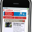 Vodafone launches iPhone Homepage  - photo 1