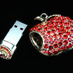 Be-jewelled apple-shaped flash drive launches  - photo 2