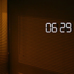 OLED digital clock concept shown - photo 1