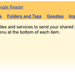 Google Reader adds share options - photo 2