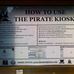 Piracy kiosk set up in Weimar, Germany - photo 3