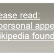 Wikipedia appeals for donations - photo 2
